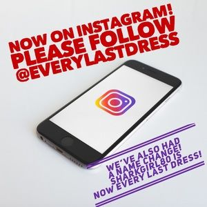 Other - Follow Every Last Dress on Instagram!!!